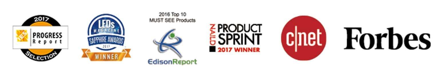 Awards Logos Green Creative